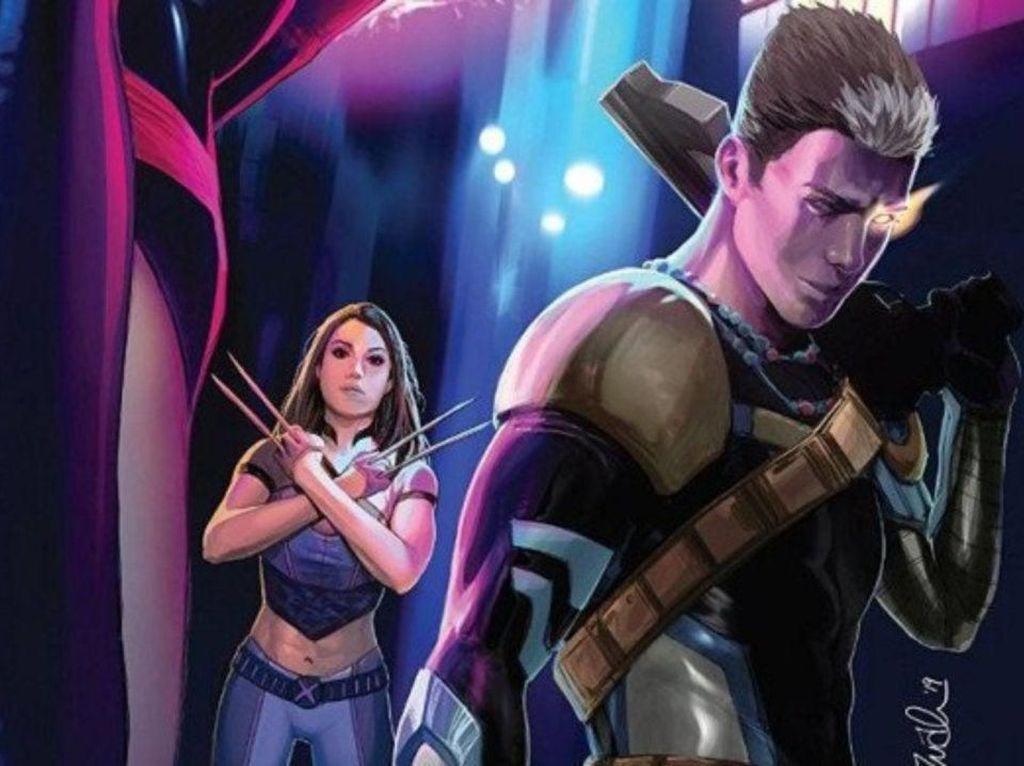 Marvel Rilis Spin-off X-Men Fallen Angels
