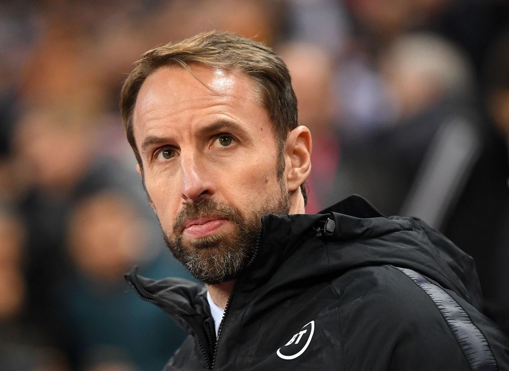 LONDON, ENGLAND - NOVEMBER 14: Gareth Southgate, Manager of England prior to the UEFA Euro 2020 qualifier between England and Montenegro at Wembley Stadium on November 14, 2019 in London, England. (Photo by Michael Regan/Getty Images)