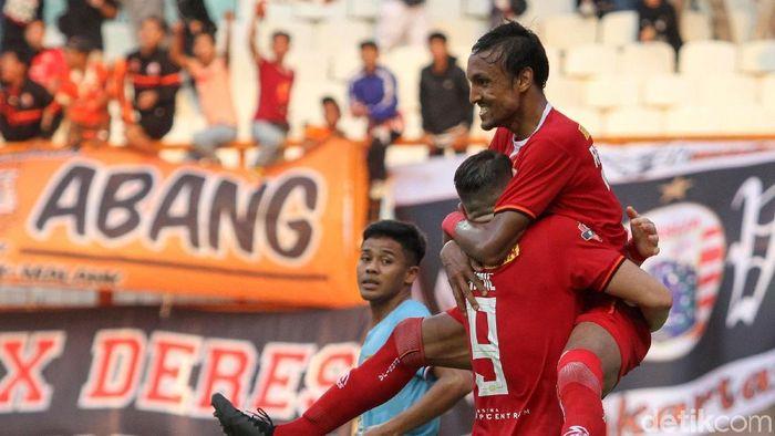 Persija Jakarta pede tutup musim dengan koleksi 50 poin. (Rifkianto Nugroho/detikSport)