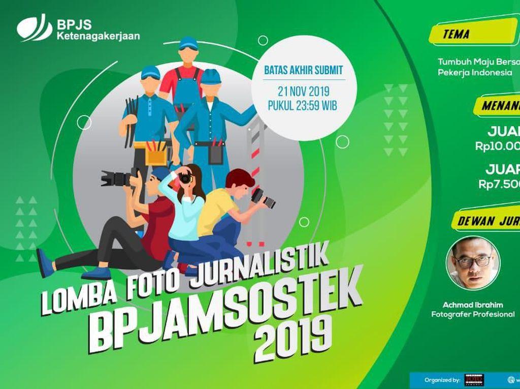 BPJAMSOSTEK Gelar Lomba Foto Jurnalistik 2019