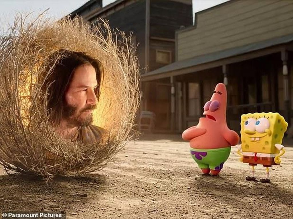 Keanu Reeves Jadi Kejutan di The Spongebob Movie