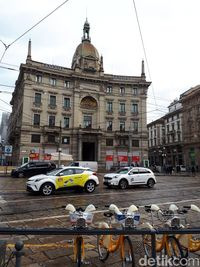 Taksi di Italia dan Spanyol