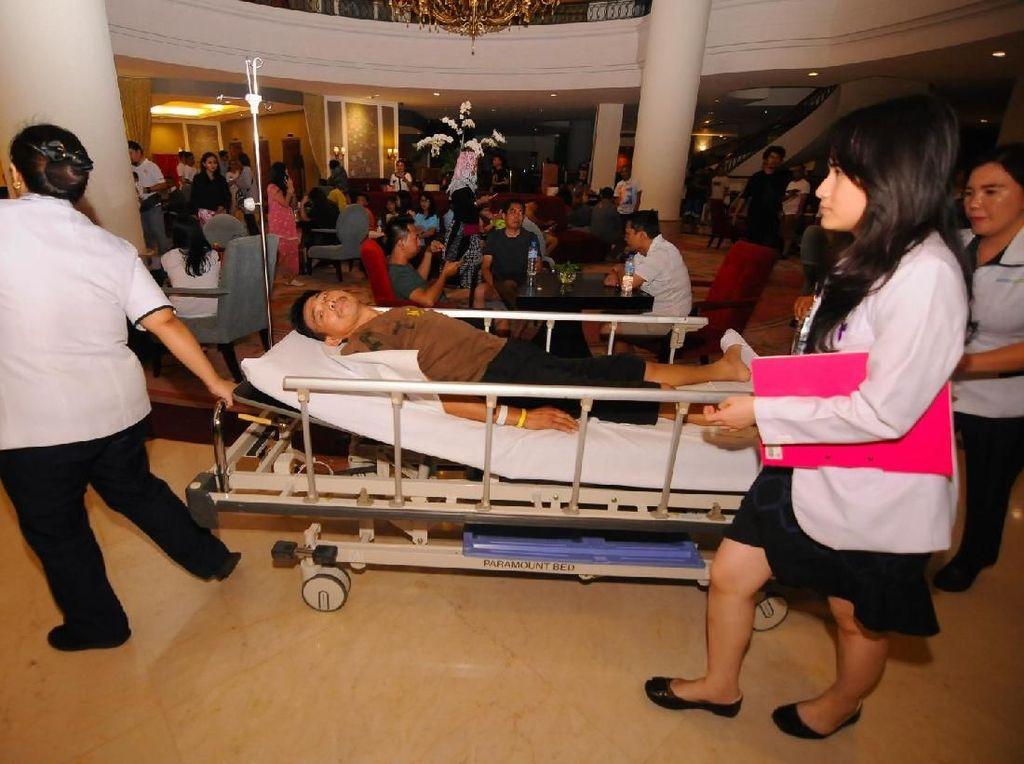 Potret Kepanikan Pasien RS Saat Gempa di Malut