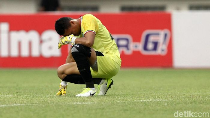 Dian Agus Prasetyo menyesali kekalahan 3-4 Persela Lamongan dari Persija Jakarta. (Foto: Rifkianto Nugroho/detikcom)