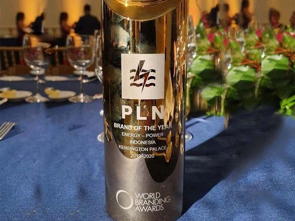 PLN Raih Brand of The Year dari World Branding Awards