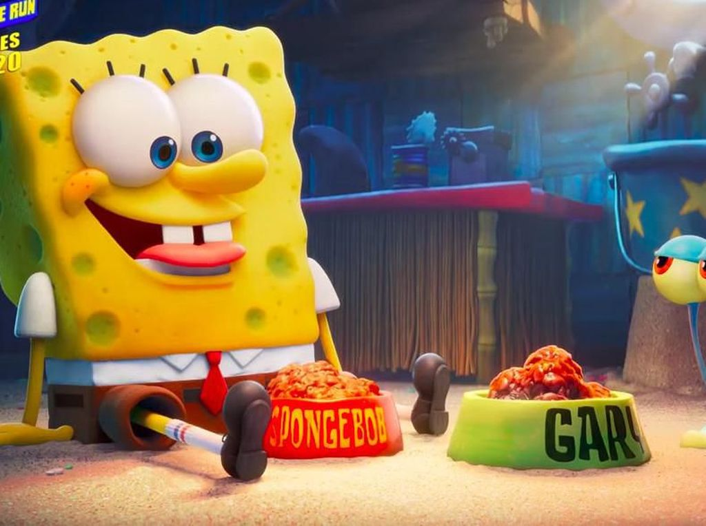 Misi Menyelamatkan Gary di The Spongebob Movie