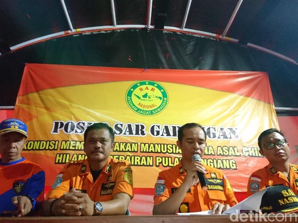 Basarnas Hentikan Pencarian WN China yang Hilang di Pulau Sangiang Banten