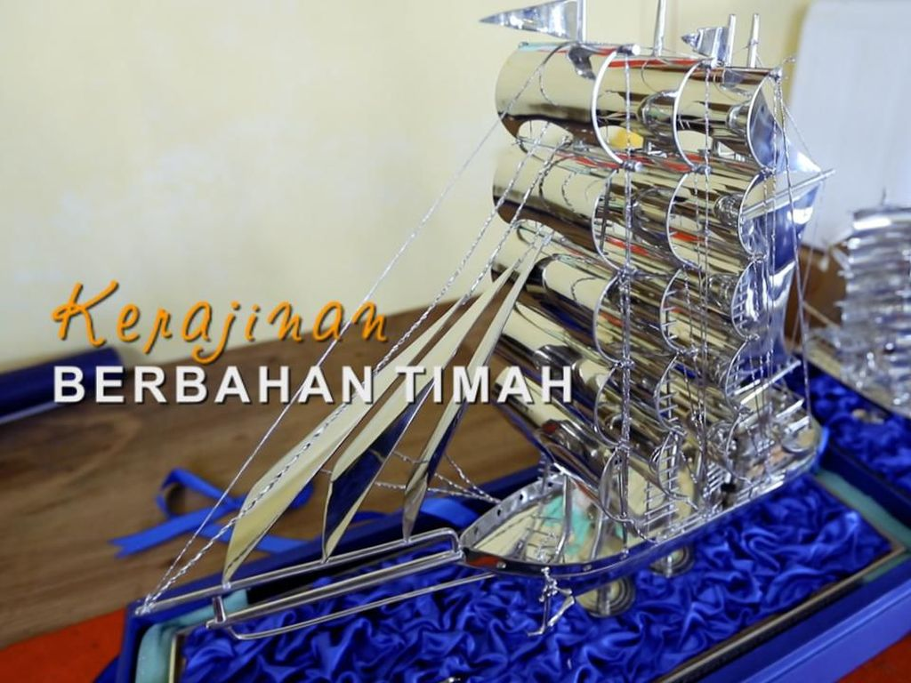 Suvenir Timah, Oleh-oleh Khas Pulau di Perbatasan Indonesia
