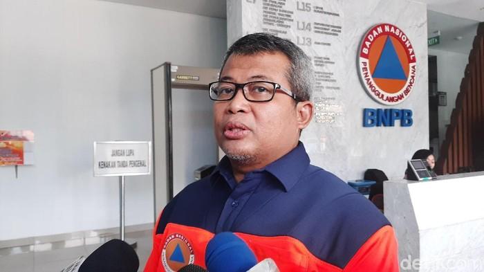 Kepala Pusat Data dan Informasi BNPB, Agus Wibowo (Lisye Sri Rahayu/detikcom)