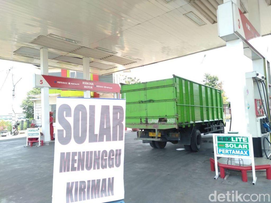 Solar Sempat Langka di SPBU Wilayah Jatim, Pertamina Pastikan Aman