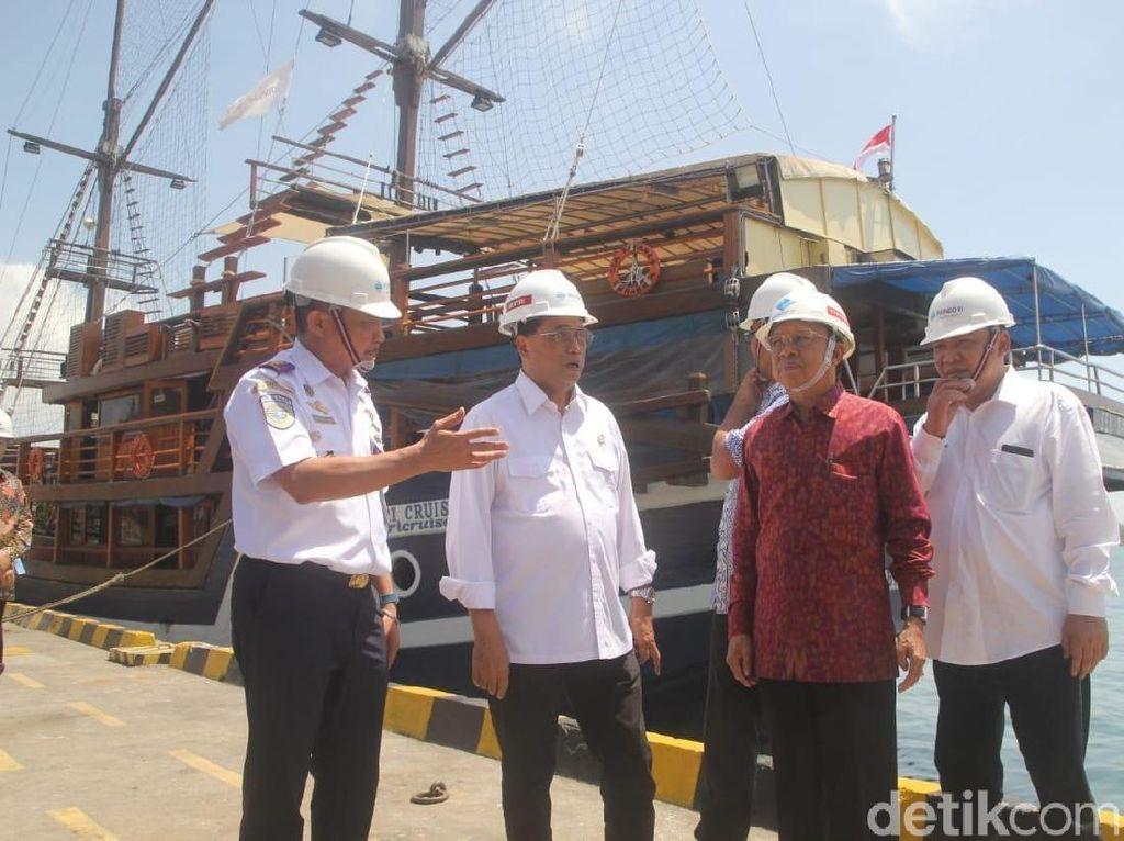 Cek Penataan Pelabuhan Benoa Bali, Menhub Puas
