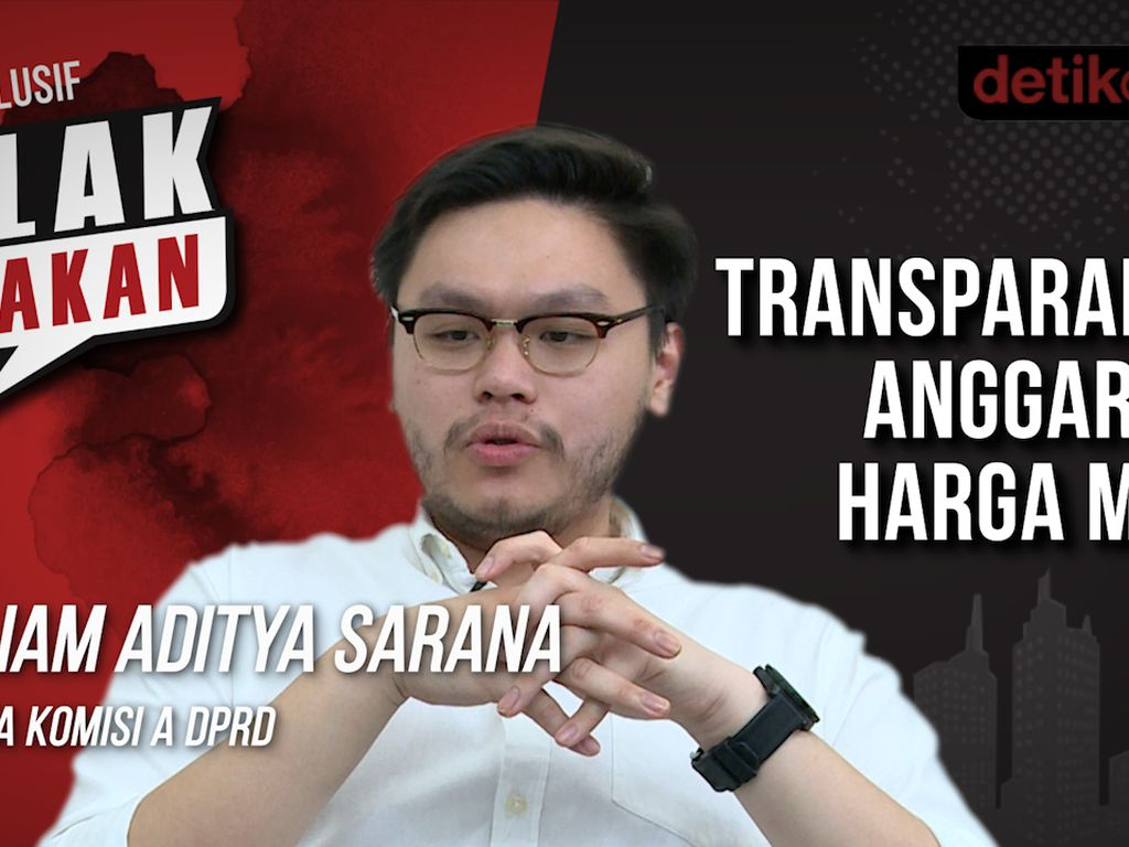 Blak-blakan William Aditya: Transparansi Harga Mati