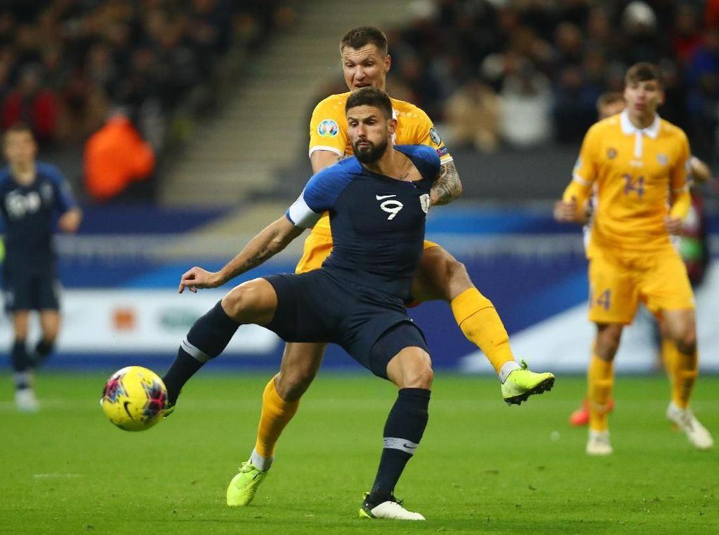 Kualifikasi Piala Eropa: Prancis Susah Payah Taklukkan Moldova