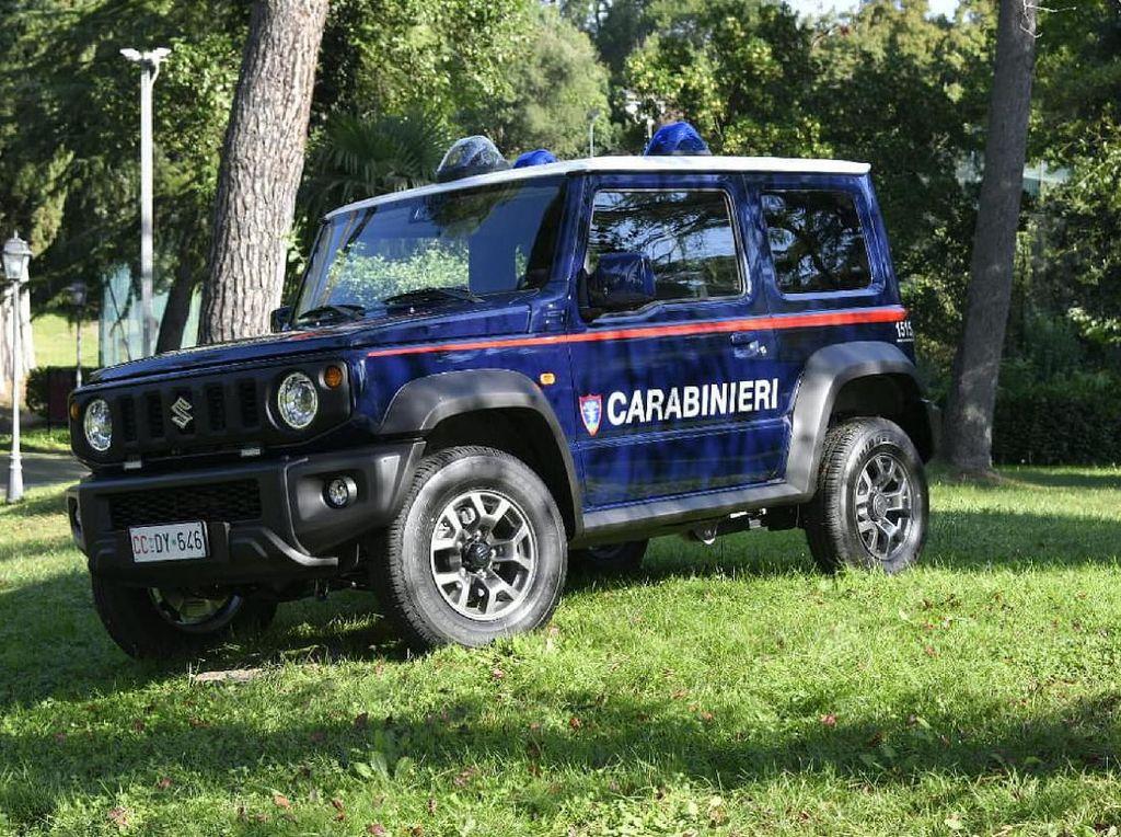 Ketika Suzuki Jimny Jadi Kendaraan Dinas Polisi Militer