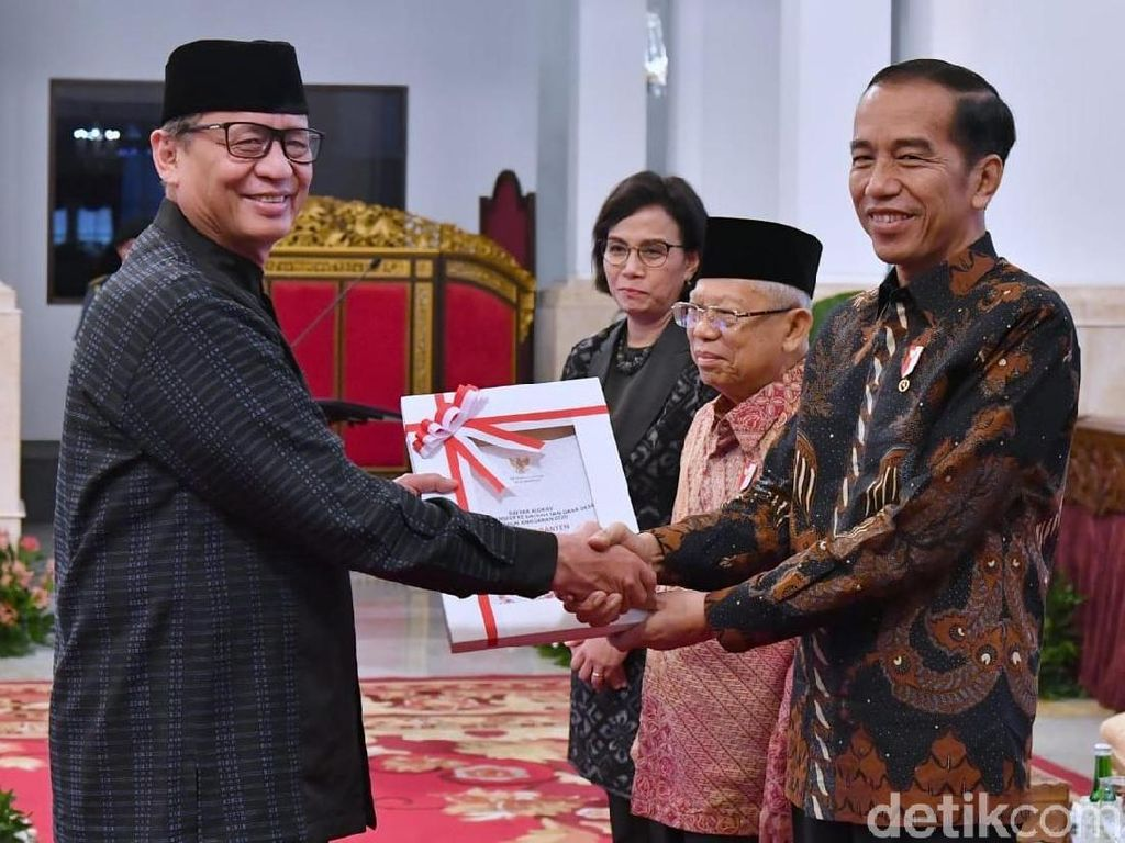 Pemprov Banten Dapat Jatah Rp 4,4 Triliun dari DIPA APBN 2020