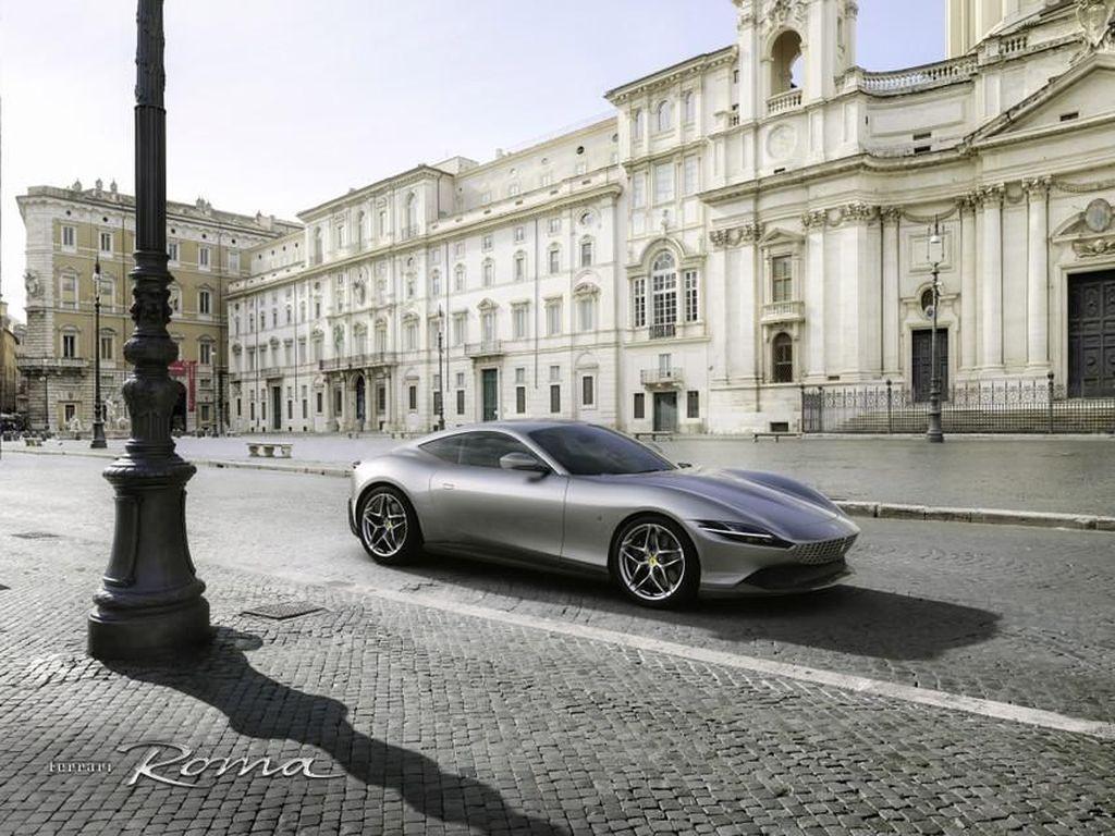 Ferrari Terbaru Ini Disapa Roma