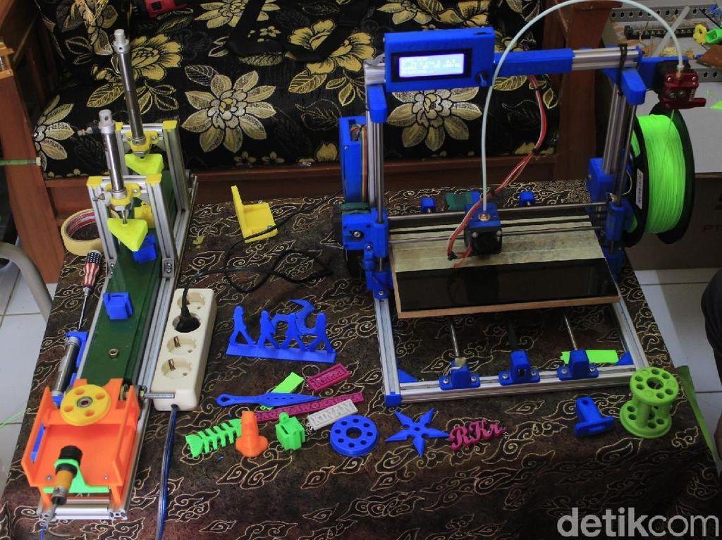 Ini Dia Mesin Printer 3D Buatan Anak SMK di Cimahi