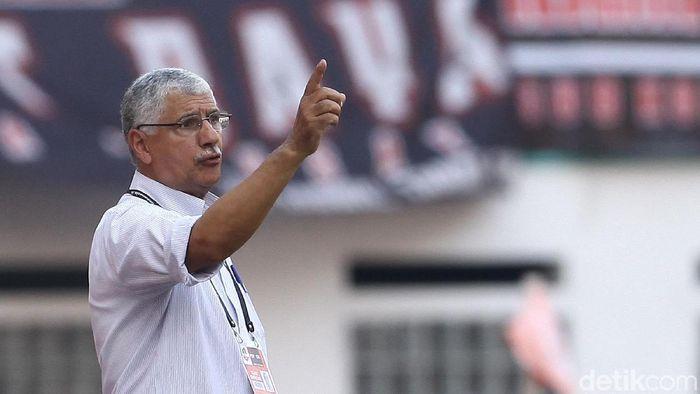 Pelatih Persija Jakarta Edson Tavares (Rifkianto Nugroho/detikSport)