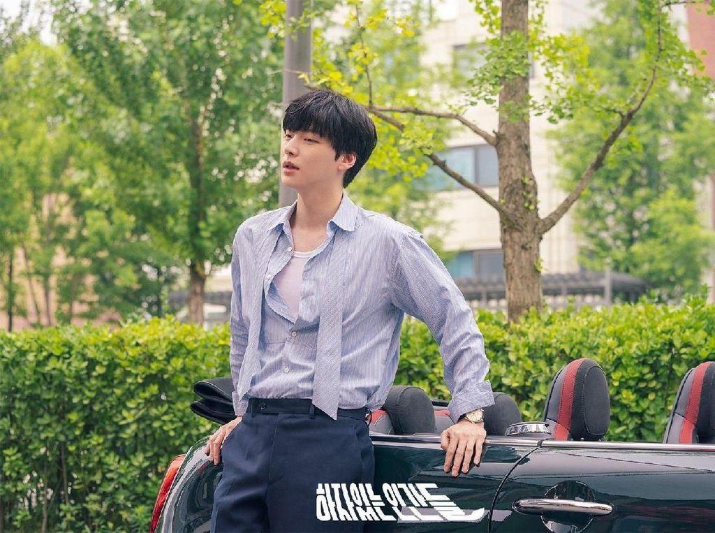 Muncul Perdana di Depan Publik, Ahn Jae Hyun Minta Maaf