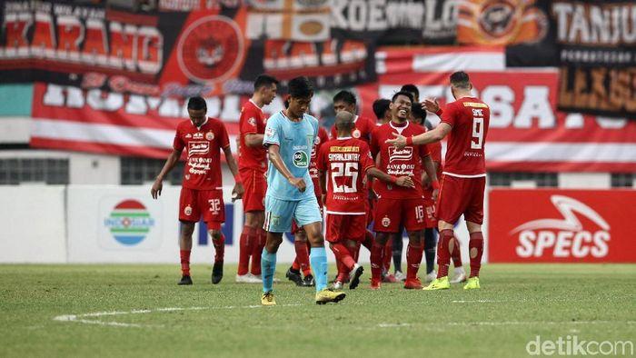 Persija Jakarta memetik kemenangan besar dalam dua pertandingan kandang terakhir di Liga 1 2019. (Foto: Rifkianto Nugroho/detikcom)