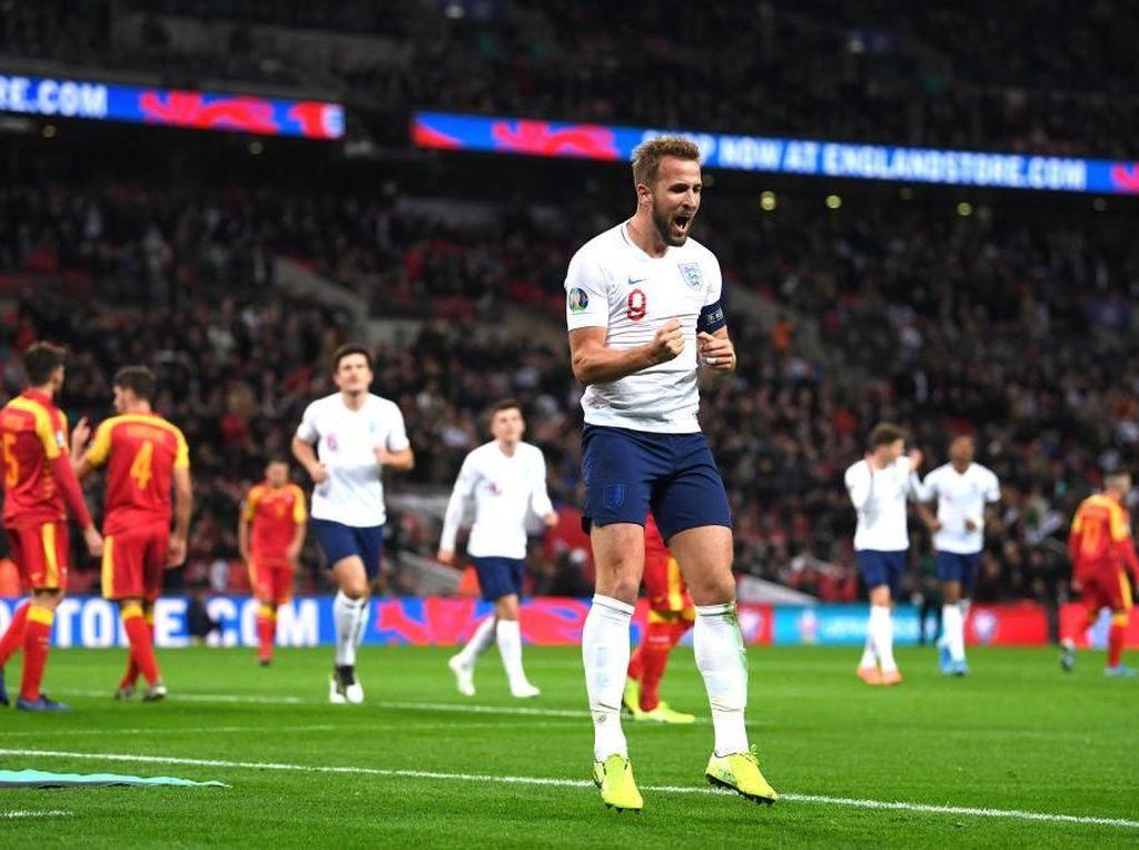 Video Tim Tiga Singa Terkam Montenegro 7 Gol Tanpa Balas