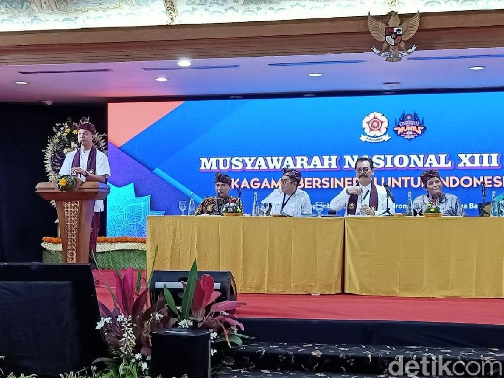 Tak Hadiri Munas Kagama di Bali, Anies Kirim Karangan Bunga