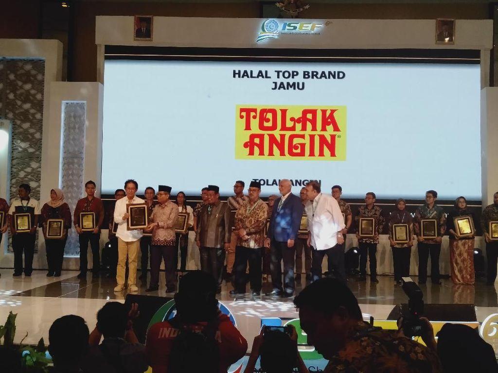 Tolak Angin Sido Muncul Raih Halal Top Brand 2019 dari MUI