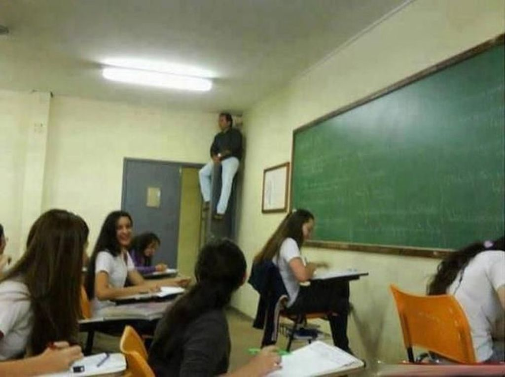 Kumpulan Cara Kocak Guru Agar Muridnya Tidak Mencontek