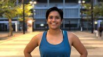 Alia Basalamah Mantan Atlet Lompat Galah Penggagas Fit In Da Park