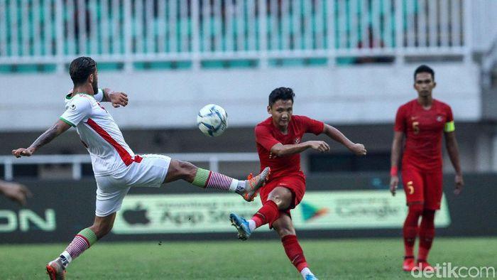 Timnas Indonesia U-23 menang 2-1 atas Iran dalam laga uji coba (Foto: Rifkianto Nugroho)