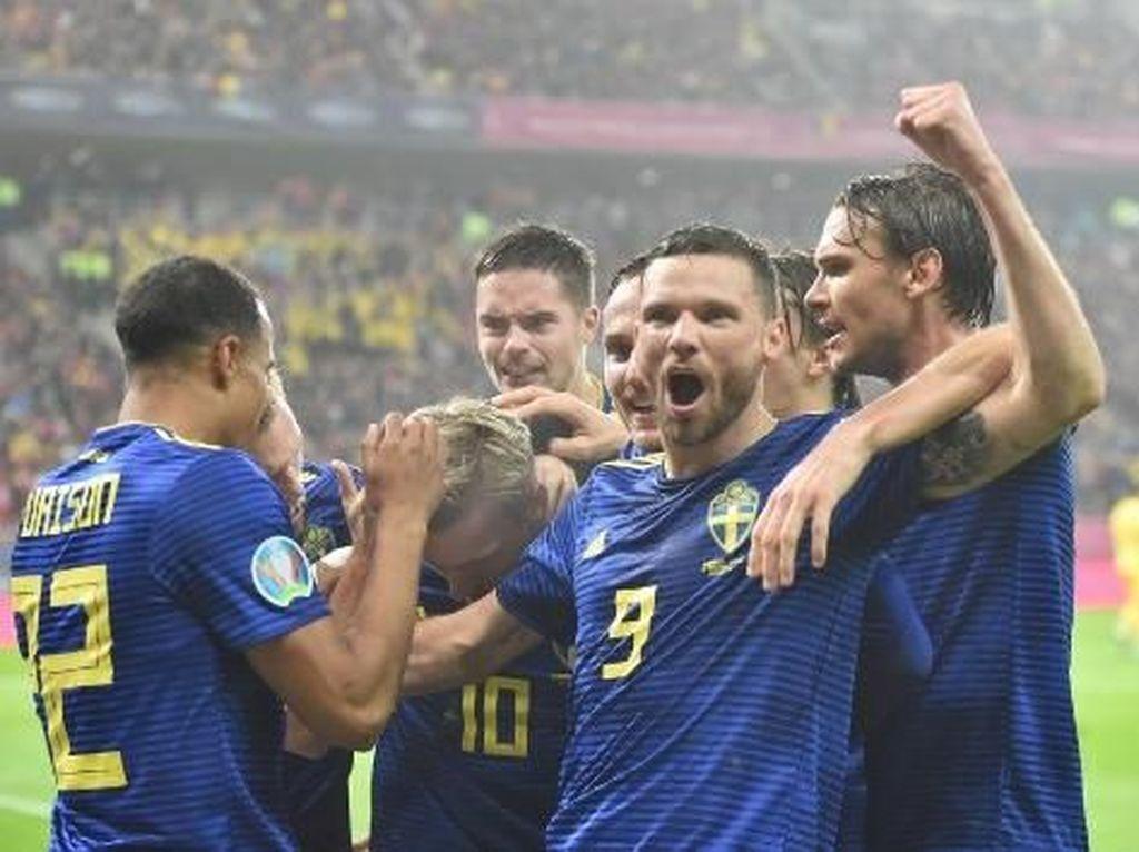 Finlandia dan Swedia Kunci Tiket Putaran Final Piala Eropa 2020