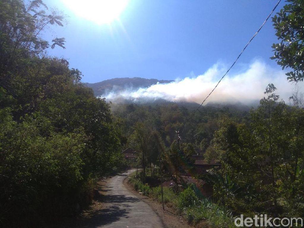 Hutan Gunung Lawu Masih Terbakar, 2 Ribu Orang Dikerahkan Padamkan Api