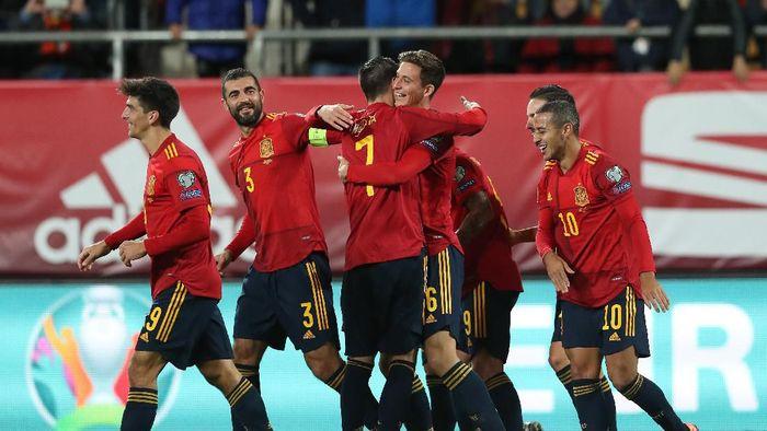 Spanyol gulung Malta tujuh gol tanpa balas. (Foto: Angel Martinez/Getty Images)