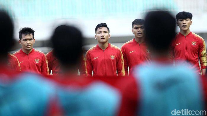 Indra Sjafri puas dengan kemenangan Timnas Indonesia U-23 atas Iran 2-1. (Rifkianto Nugroho/detikSport)