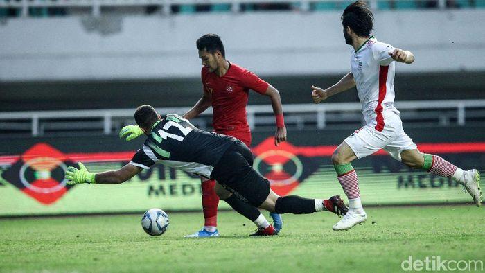 Muhammad Rafli berjanji akan habis-habisan saat Indonesia menghadapi Thailand. (Foto: Rifkianto Nugroho/detikcom)