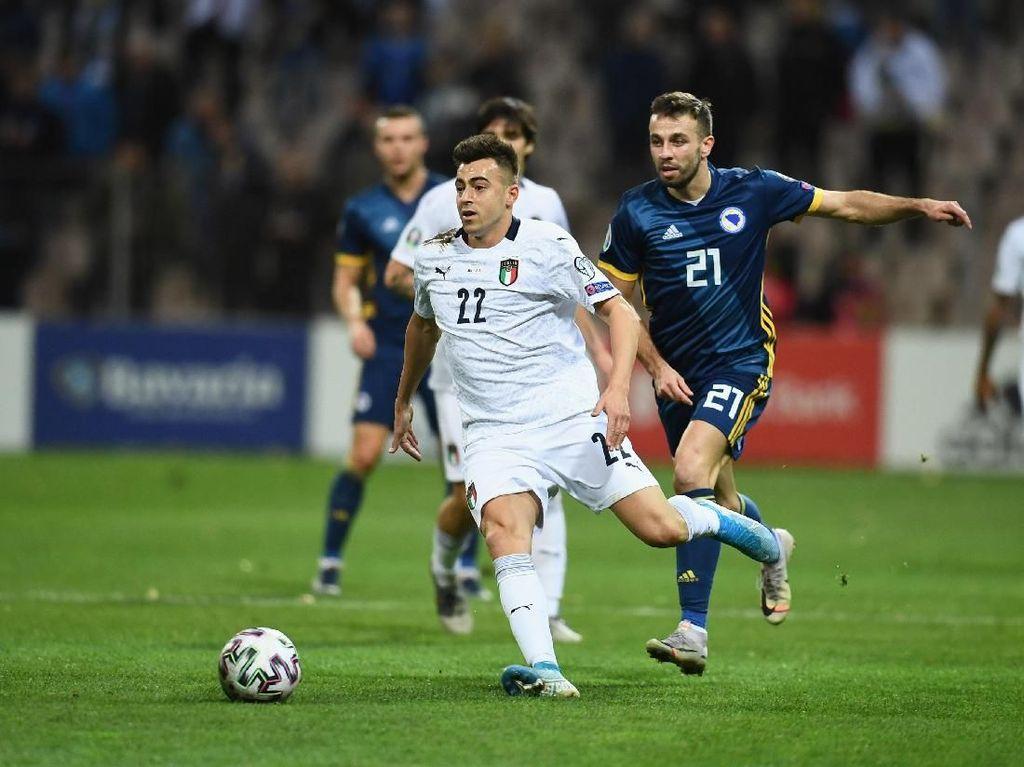 Kualifikasi Piala Eropa: Italia Bungkam Bosnia Herzegovina 3-0