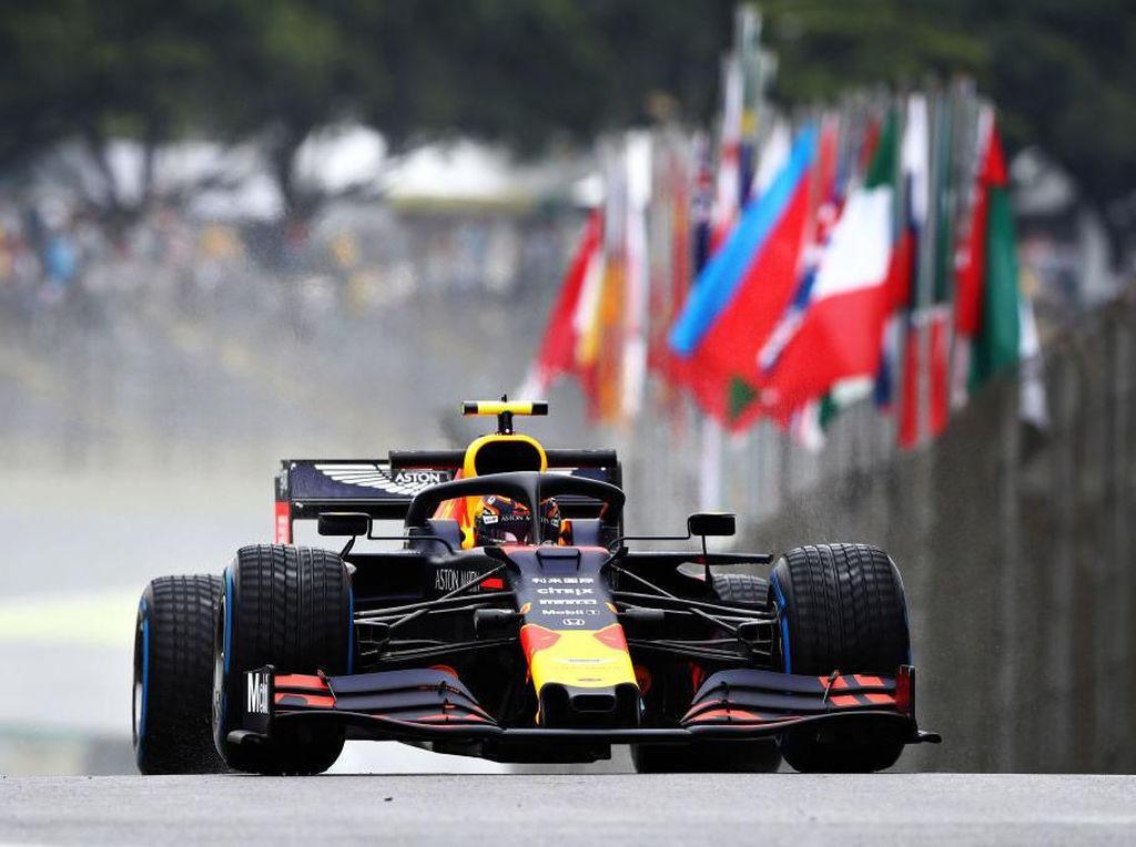 Alexander Albon Tercepat di FP1 GP Brasil