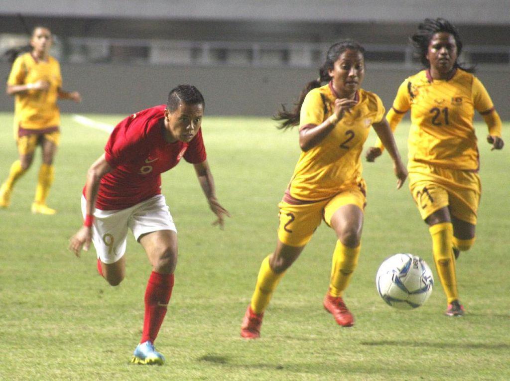Timnas Putri Indonesia Libas Sri Lanka 5-0