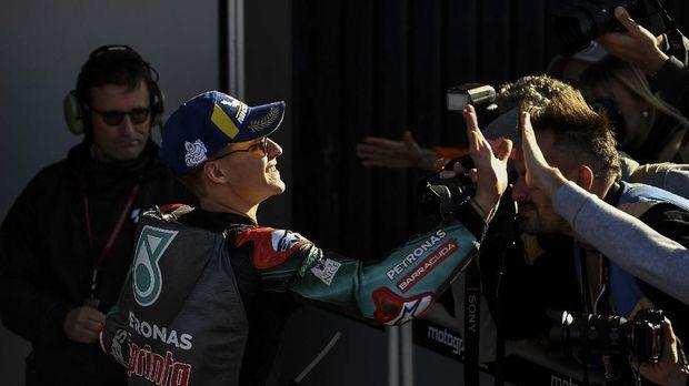 Fabio Quartararo finis sebagai runner-up di MotoGP Valencia.
