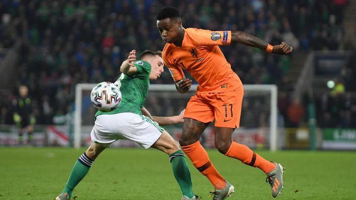 Belanda lolos ke Piala Eropa 2020 usai imbang melawan Irlandia Utara (Foto: Mike Hewitt/Getty Images)