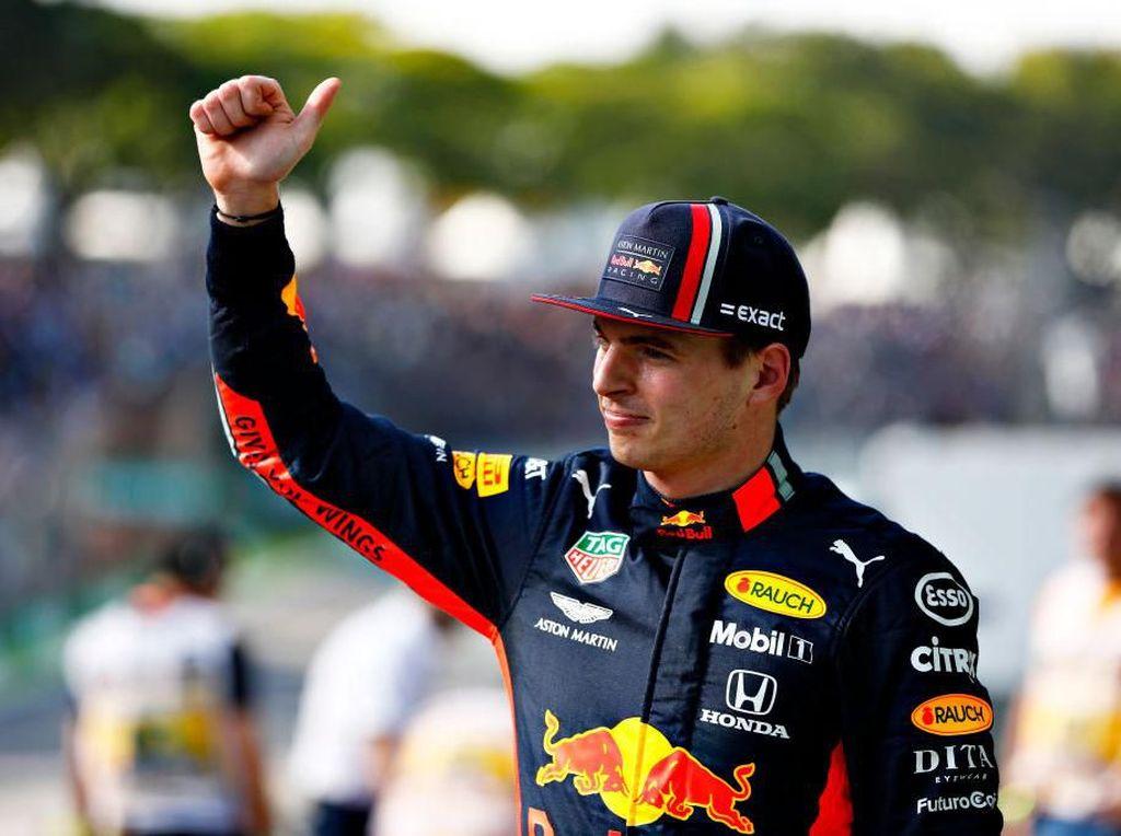 Ungguli Vettel, Verstappen Rebut Pole di GP Brasil