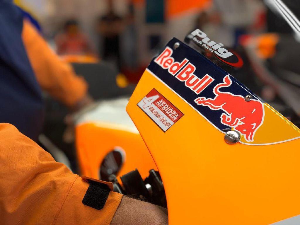 Respect! Tribut untuk Afridza di Tunggangan MotoGP Valencia