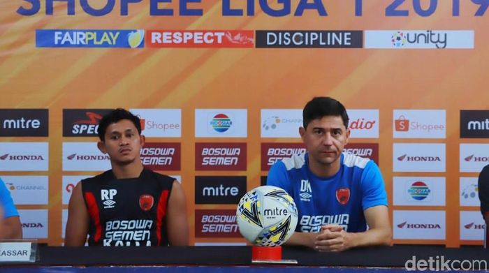PSM Makassar akan menjamu Persipura Jayapura di lanjutan Liga 1 2019. (Foto: Ibnu Munsir/detikSport)