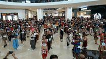 Dwi Andhika dan Amanda Manopo Menari Bareng Ribuan Orang di Solo