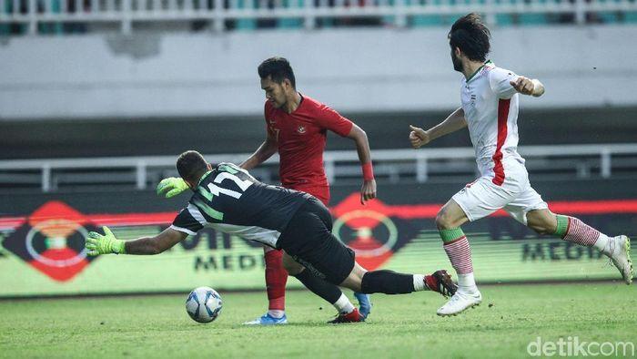 Muhammad Rafli mengaku tak terbebani jika nanti harus menjadi ujung tombak Indonesia di SEA Games 2019 (Foto: Rifkianto Nugroho/detik.com)