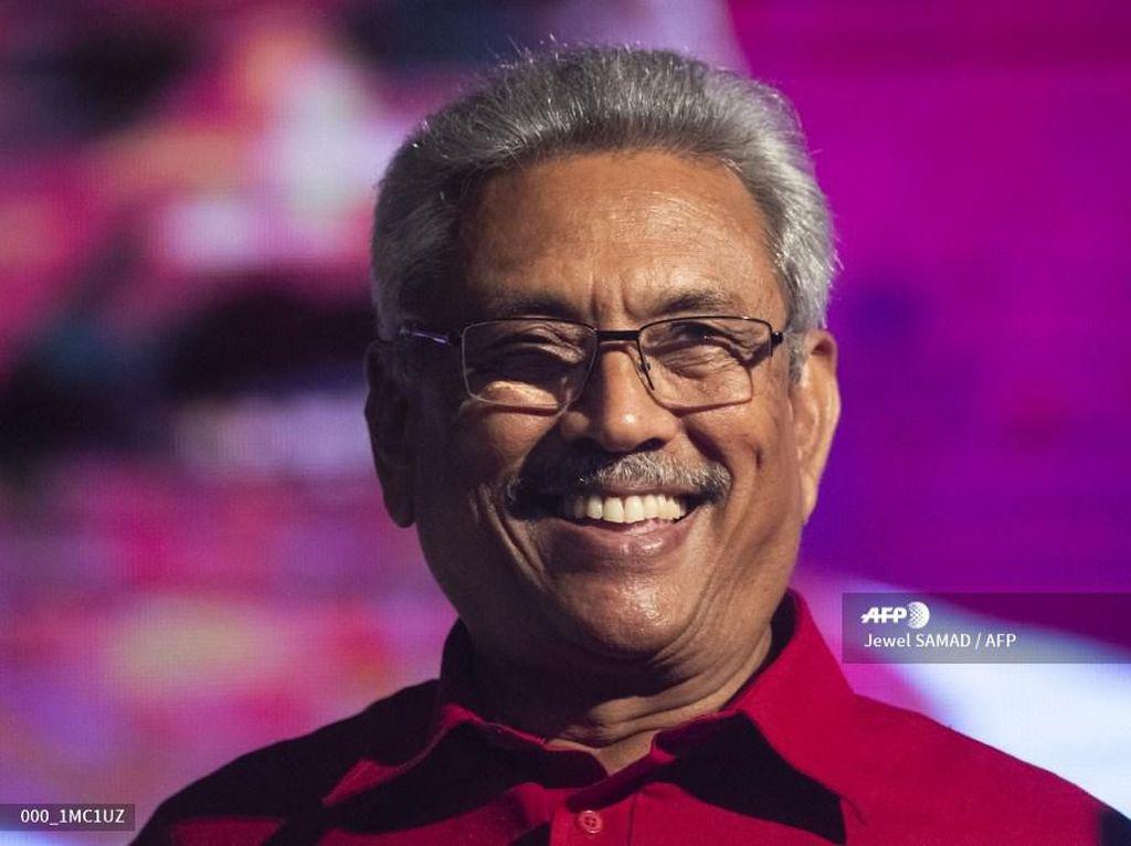 Terminator Menang Pilpres Sri Lanka