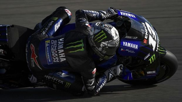 Yamaha Dekap Quartararo dan Rossi dalam Satu Pelukan