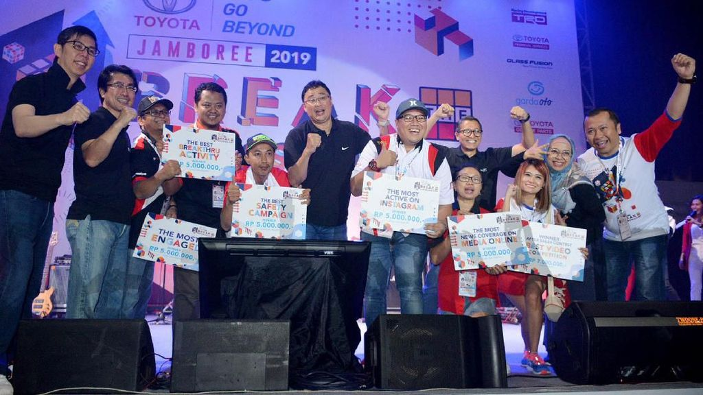 Intip Keseruan Toyota Jamboree 2019