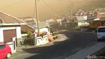 Jalur Mojokerto-Batu Kembali Ditutup Imbas Angin Kencang Bercampur Debu