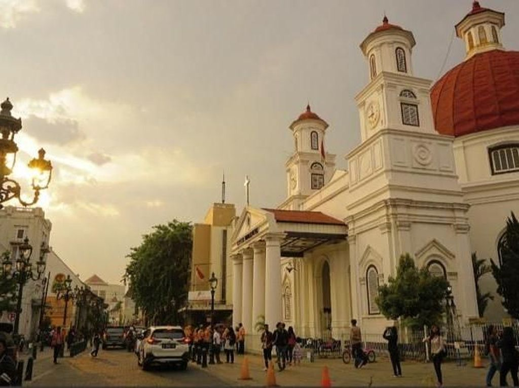 Kota Lama Semarang yang Semakin Cantik
